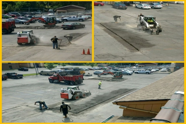 commercial paving, commercial sealcoating prices
