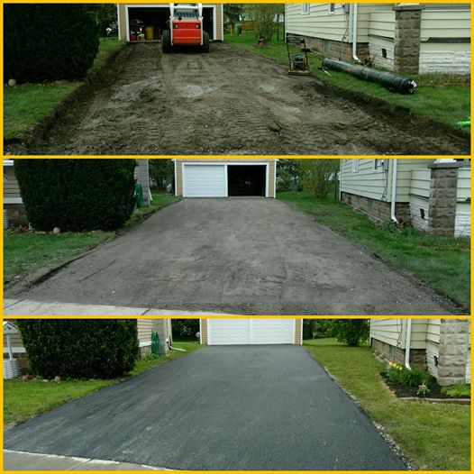 residential paving, driveway sealcoating